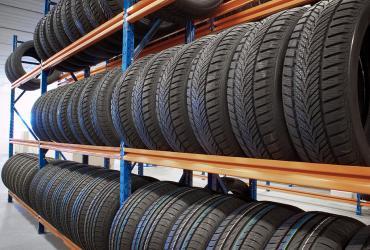 Rayonnages pour pneus