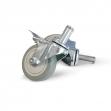 Roulettes pivotantes 100 mm