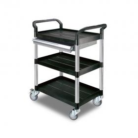 Chariot en aluminium avec un tiroir